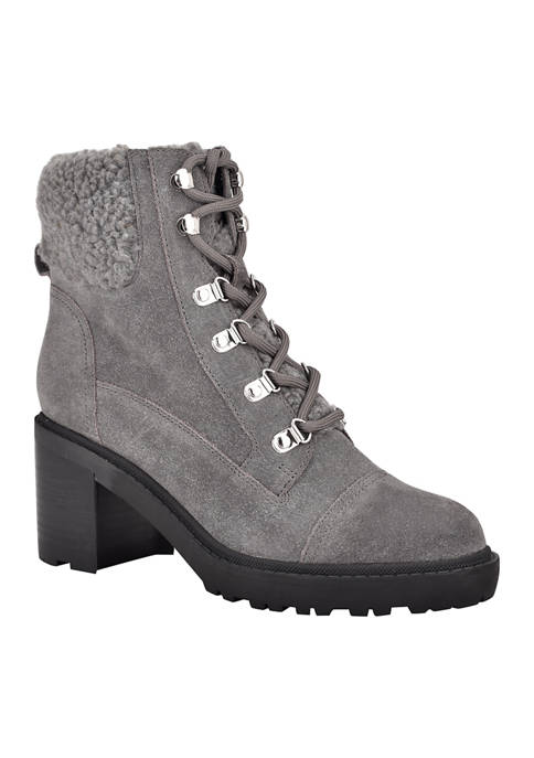 Combat Lace-Up Boots