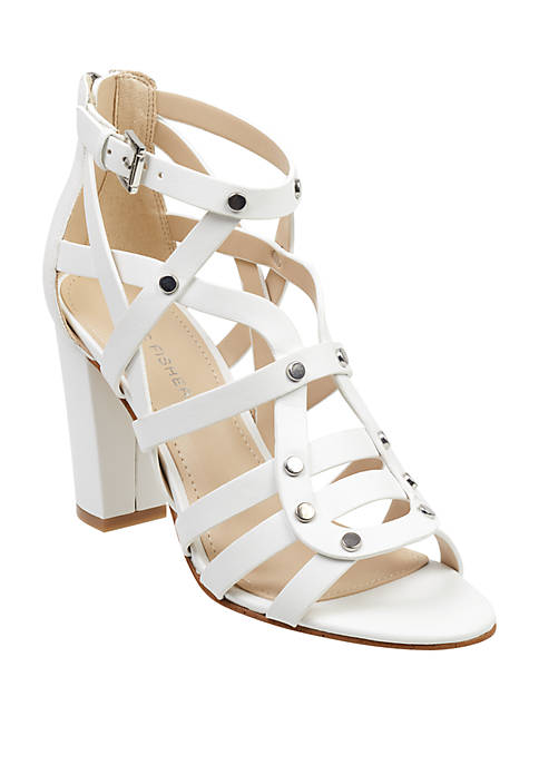 Marc Fisher Lusa Strappy Heeled Sandals
