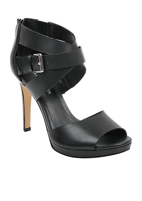 Marc Fisher Marina Platform Wrap Sandals