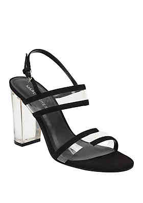 7e98f16c443 Marc Fisher Outcry Lucite Heeled Sandals ...