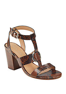 Marc Fisher Walina Heeled Sandals