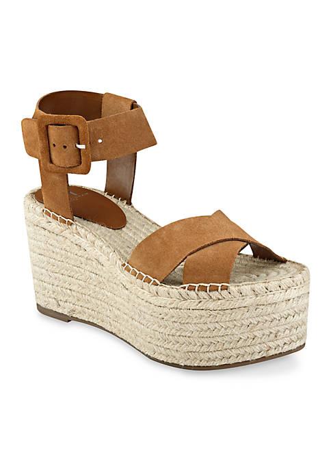2402fad22f1 Marc Fisher LTD Randall Espadrille Wedge Sandals