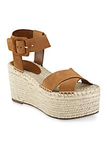 Marc Fisher LTD Randall Espadrille Wedge Sandals