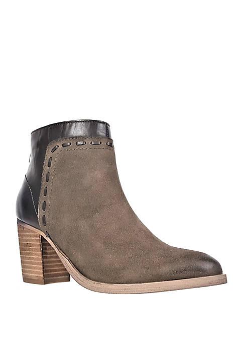 Laurell Block Heel Bootie