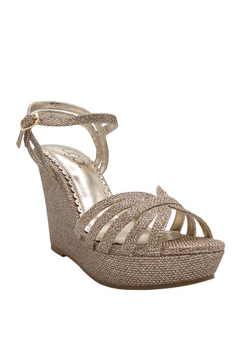 Capricorn Wedge Sandals