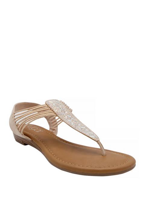 Carrell Thong Sandals