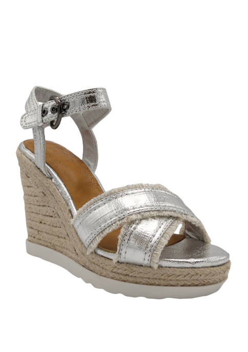 Forward Wedge Heel Sandals