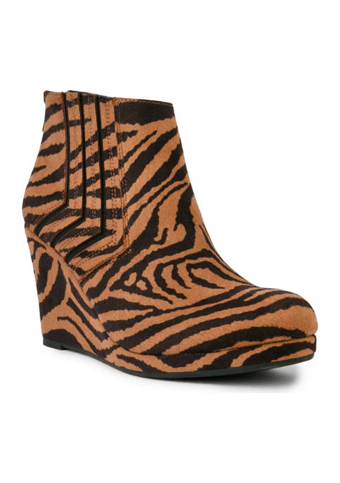 Juliette Wedge Booties