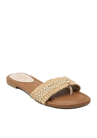 Sugar Taz Woven One Band Sandal vyYZZx2x