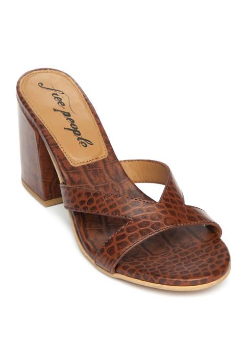 Charlie V Heel Sandals