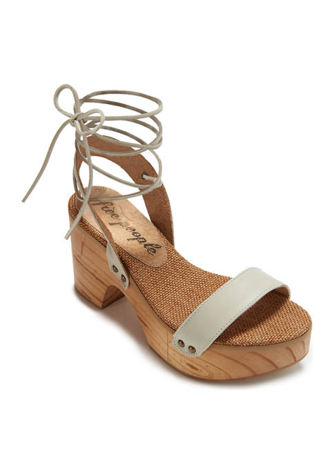 Free People Aurora Wrap Clog Sandals