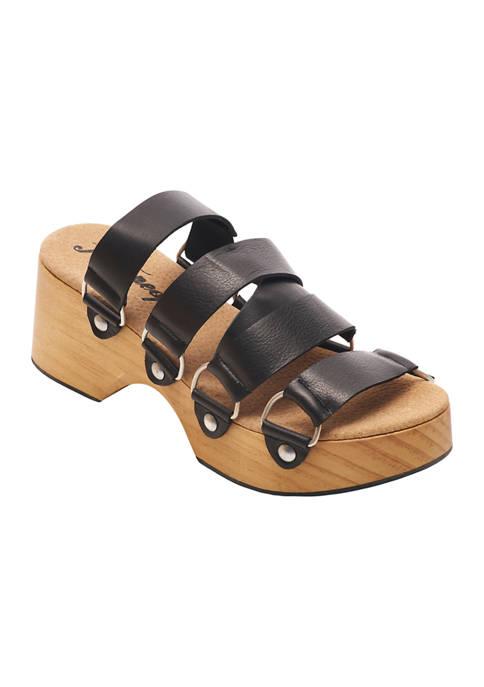 Virgo Switchback Sandals