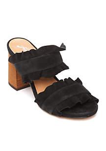 Rosie Ruffle Heels