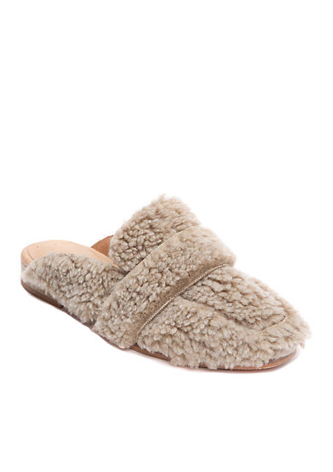 Free People At Ease Faux Shearling Loafers