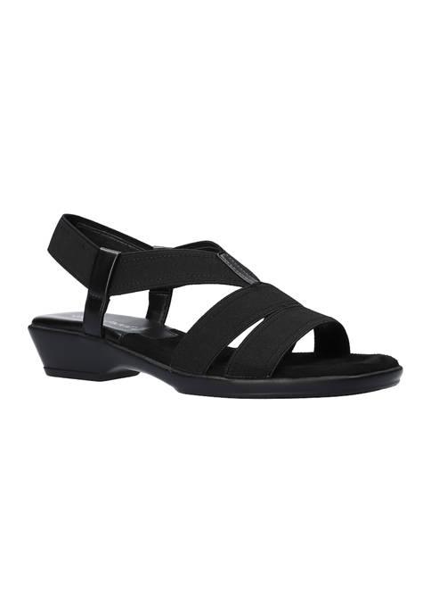 Easy Street Treasure Stretch Sandals
