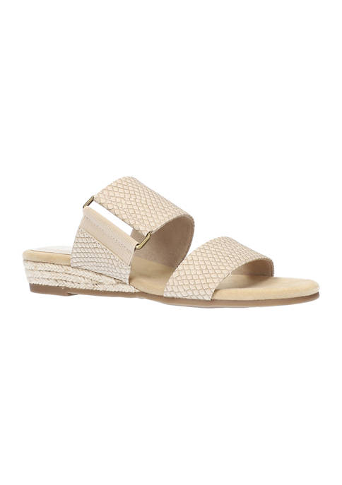 Easy Street Olympia Wedge Espadrille Sandals
