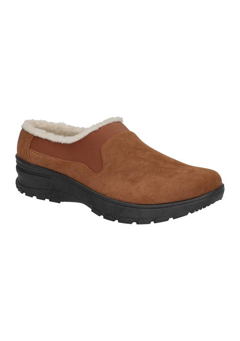 Easy Street Duluth Faux Fur Comfort Mules