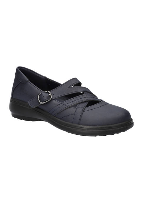 Wise Asymmetrical  Comfort Mary Janes