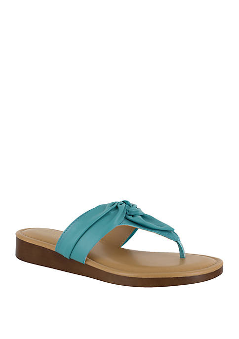 TUSCANY by easy street® Maren Thong Sandal