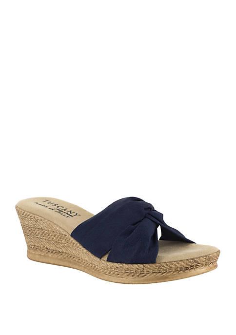 Dinah Wedge Sandal