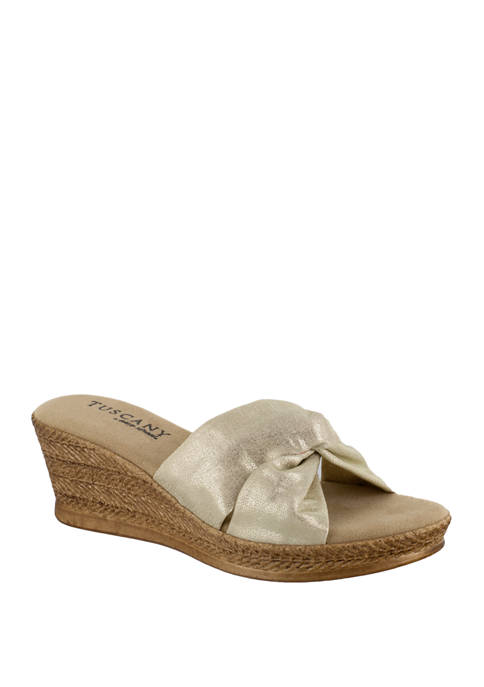 TUSCANY by easy street® Dinah Wedge Sandals