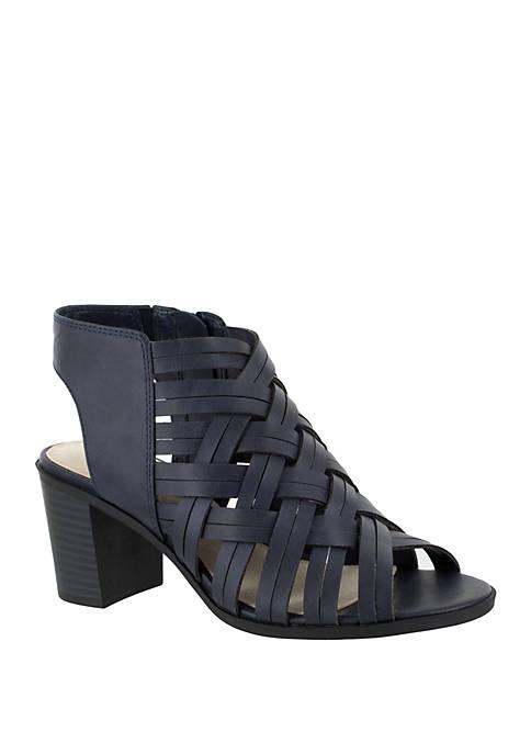 Easy Street Angel Block Heel Sandal