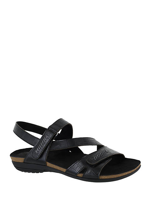 Easy Street Winnie Asymmetrical Sandal