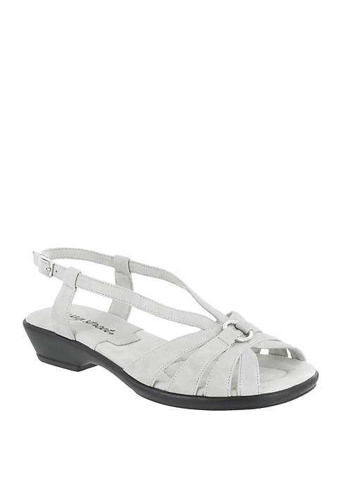 Easy Street Amy Low Heeled Sandal