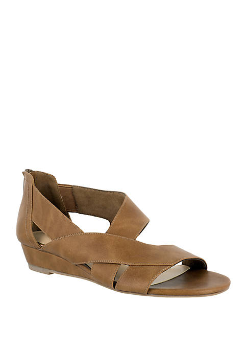 94369a07749b Easy Street Carol Asymmetrical Sandal