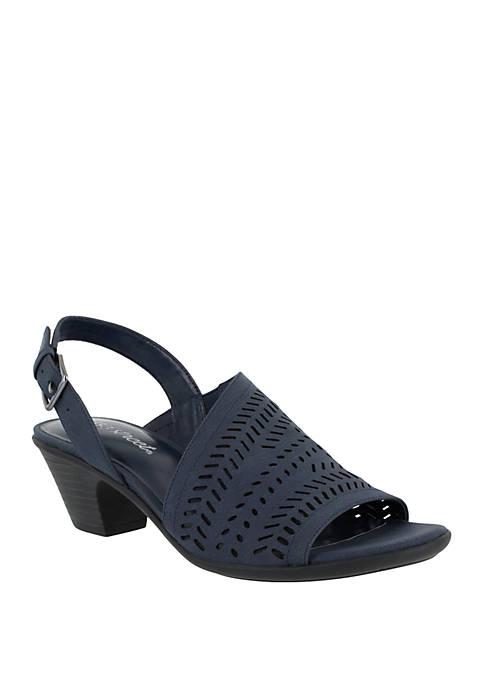 Easy Street Goldie Cutout Sandal