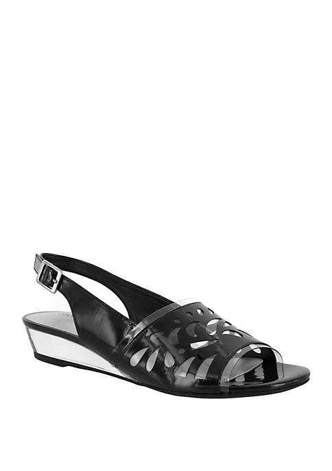 Easy Street Celebrate Wedge Sandal
