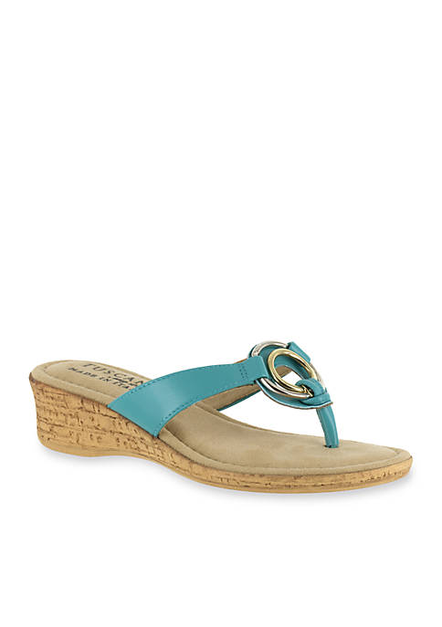 abe924c40 TUSCANY by easy street® Fina Wedge Sandal. Fina Wedge Sandal