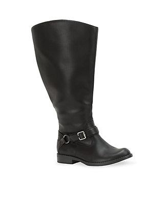 Easy Street Quinn Plus Plus Extra Wide Calf Boot Belk