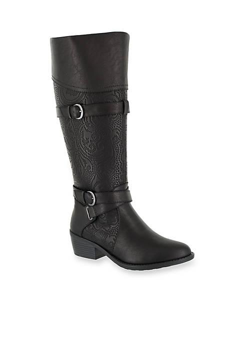Kelsa Plus Tall Wide Calf Boot