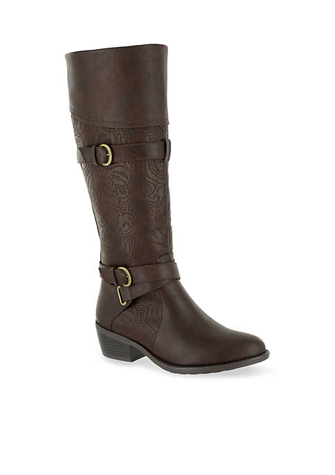 Easy Street Kelsa Plus Tall Wide Calf Boot