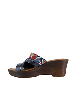 167850c46367 ... TUSCANY by easy street® Lucette Wedge Sandal ...