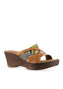 Lucette Wedge Sandal