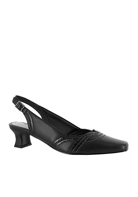 Easy Street Stunning Slingback Pumps