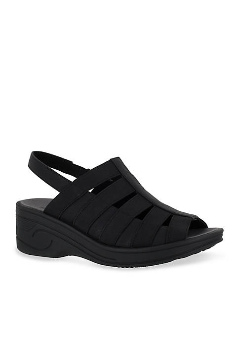 Easy Street Floaty Cut Out Sandals