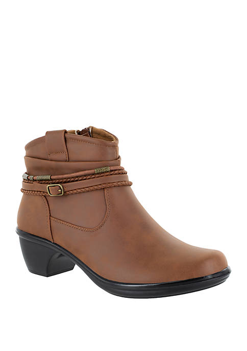 Easy Street Wrangle Western Influenced Bootie