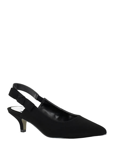 Easy Street Arden Slingback Dress Pumps