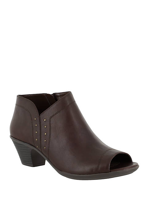 Easy Street Voyage Open Toe Bootie with Mini