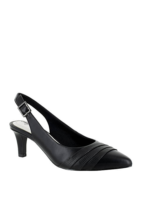Easy Street Baker Slingback Dress Pump