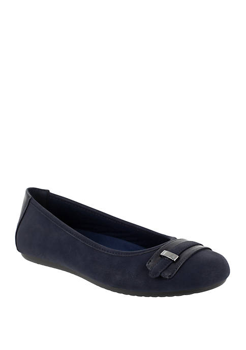 Easy Street Angie Ballet Flat