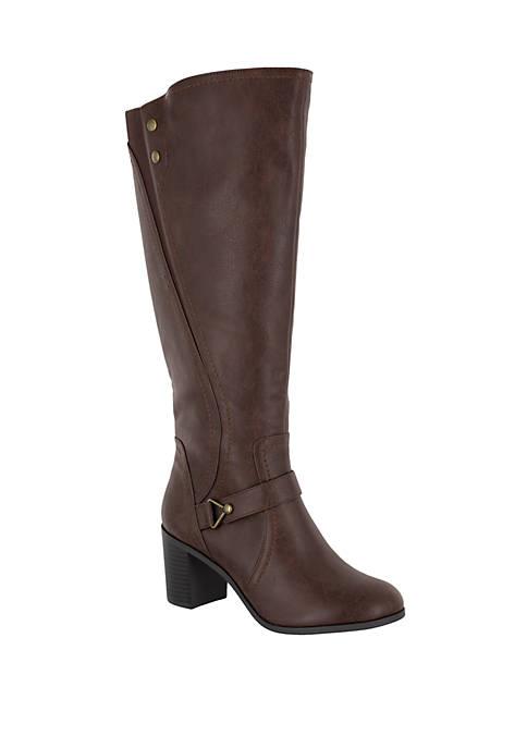 Easy Street Format Block Heel Boots