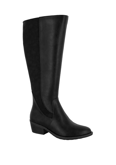 Easy Street Cortland Wide Calf Riding Boots