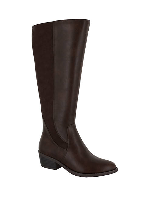 Easy Street Cortland Plus Wide Calf Riding Boots