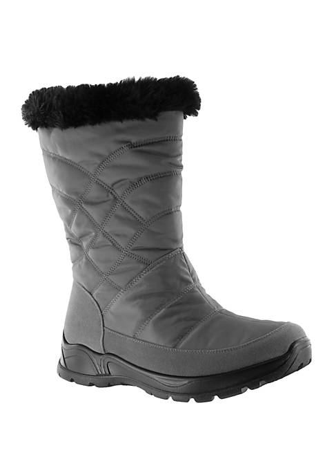 Womens Easy Dry Cuddle Waterproof Weather Boots