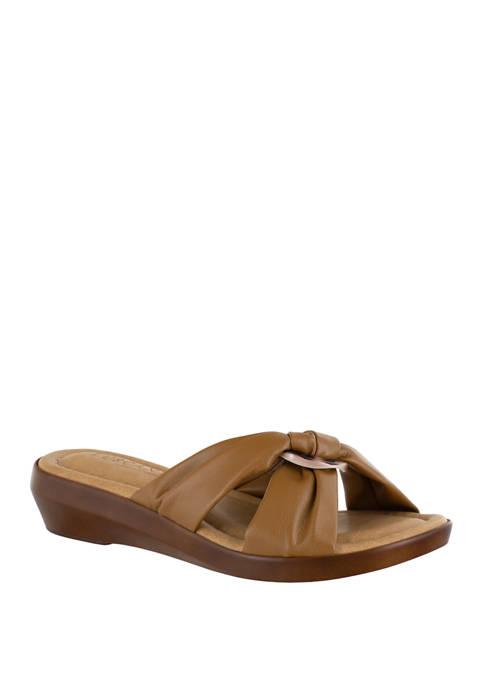 Cella Italian Slide Sandals