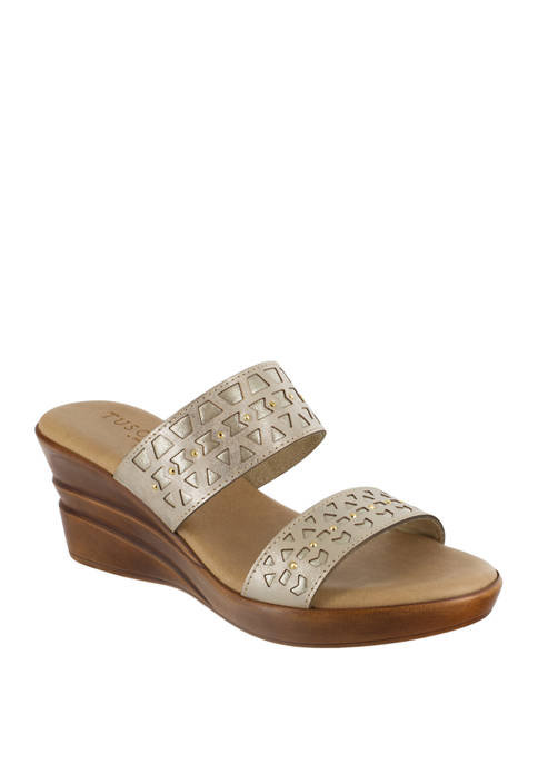 Rosalie Italian Wedge Sandal